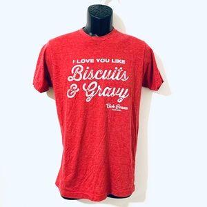 Bob Evans | I Love You Like Buscuits & Gravy Tee